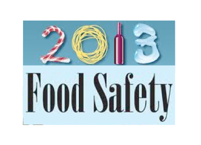 2013  Food Safety Classes