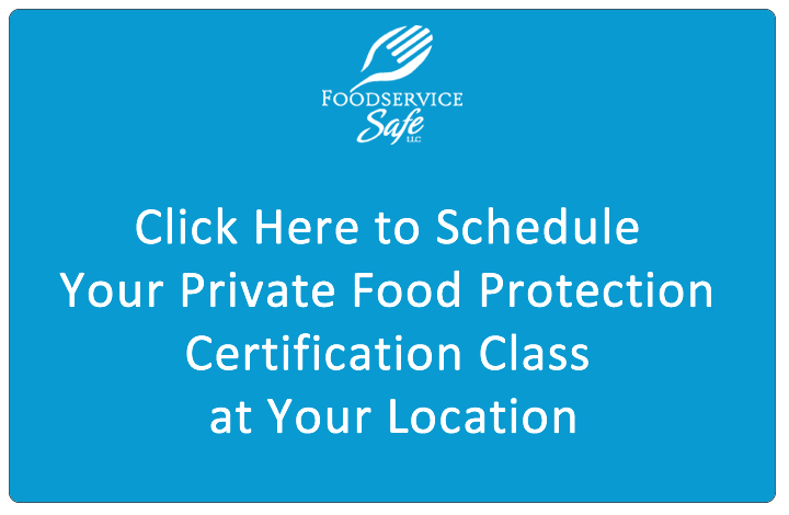 Private Food Protection Certification Class
